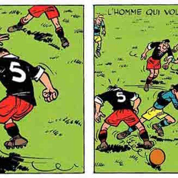 Once de gala, los mejores cómics sobre fútbol