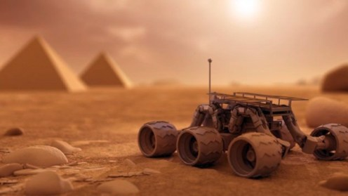 MarsPyramids