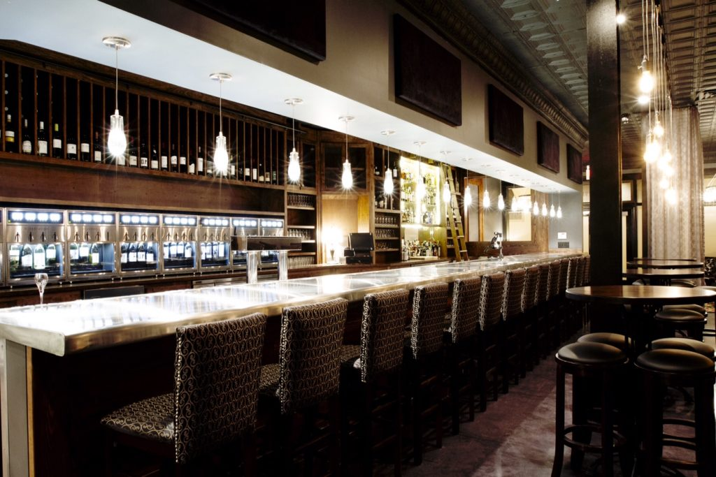 Winestation For Hilton Executive Lounges Wine Dispensing System