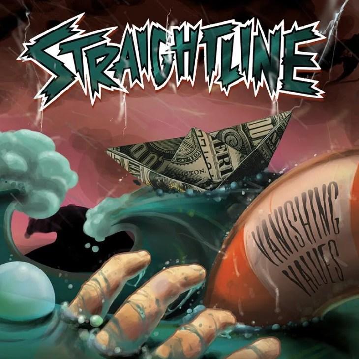 Straightline Announce New Album Vanishing Values