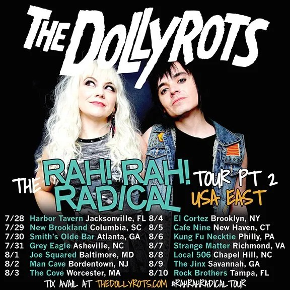 "The Dollyrots to Hit The Road on the ""Rah! Rah! Radical Tour"""