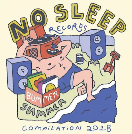 "No Sleep Records Releases ""Bummer Summer – Compilation 2018"""