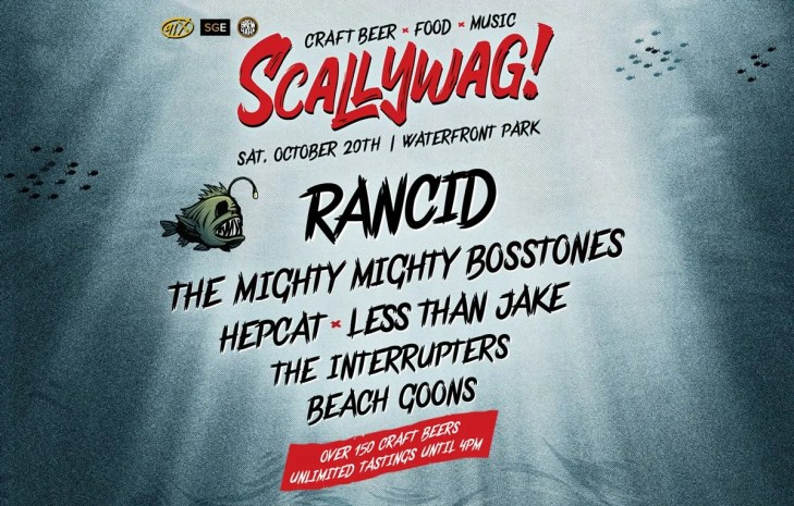 Scallywag! Craft Beer & Music Festival – Saturday, October 20th