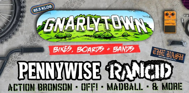 KLOS Presents Gnarlytown: Bikes, Boards & Bands