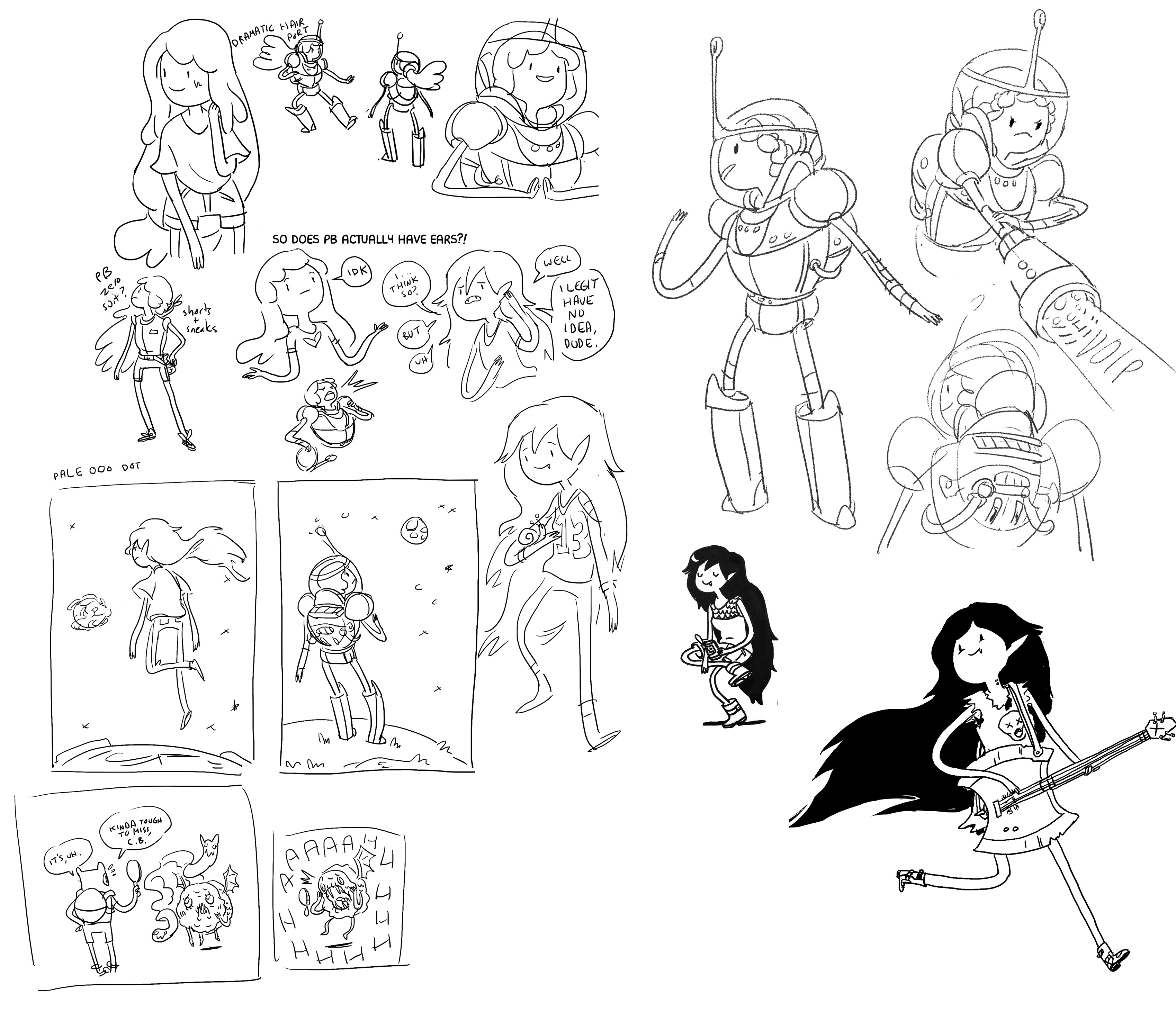 EXCLUSIVE First Look! ADVENTURE TIME: Marceline Gone