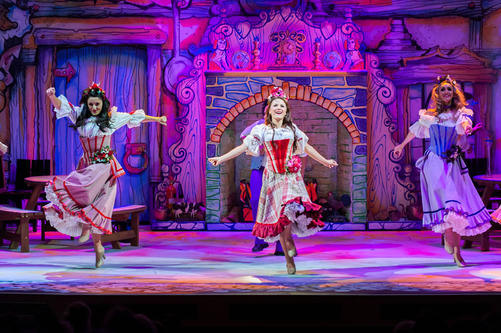 Image: From Pavillion Panto Website, of last year's production of Peter Pan