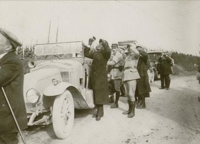 Le 27 mai 1916 : Palais Archiépiscopal, la mission russe et M. Protopopoff.