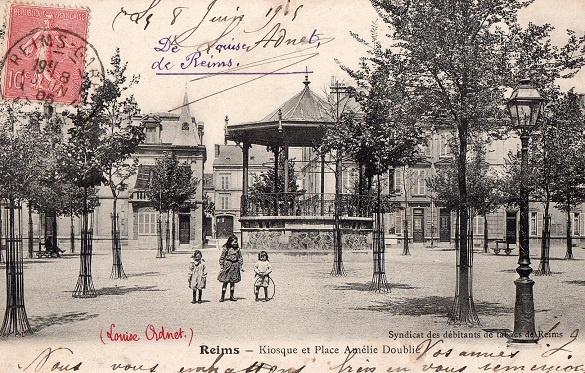 Place Amélie-Doublié (avant 1914)