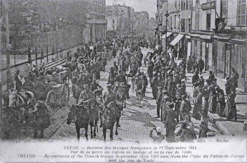 La délivrance de Reims