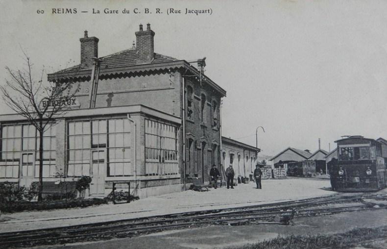 Gare du CBR, rue Jacquart