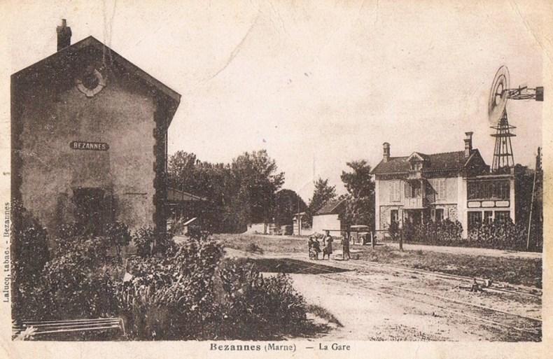 Gare de Bezannes
