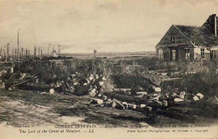 Lundi 11 octobre 1915. Aéroplane allemand au matin