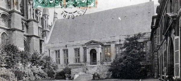 Palais du Tau avant la guerre
