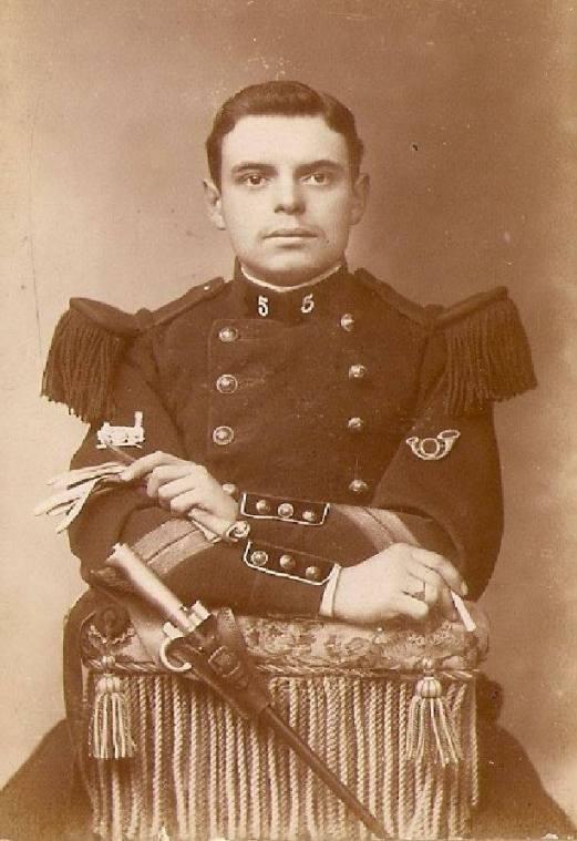 LAMAND Maurice (1886-1917) Sergent au 5e Régiment du Génie, MPF le 25/02/17