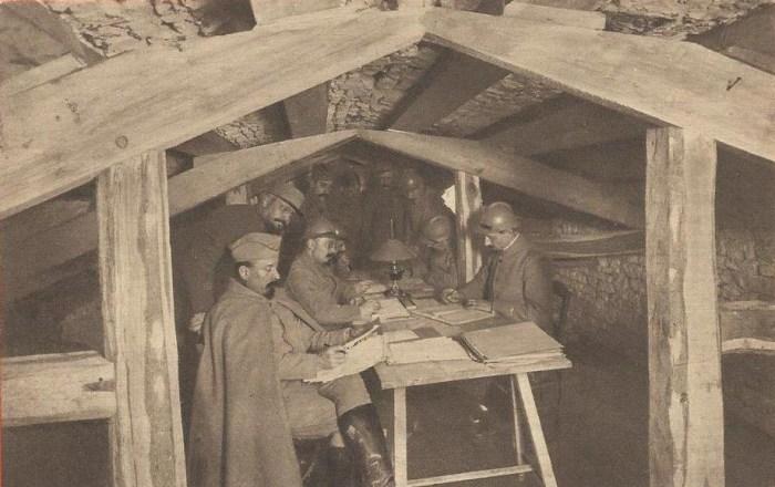Verdun. État-major installé dans une cave aménagée et fortifiée. Jouvène éditeur