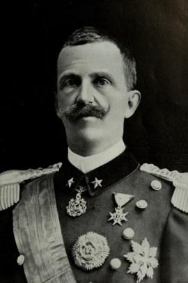 Victor Emmanuel III roi d'Italie