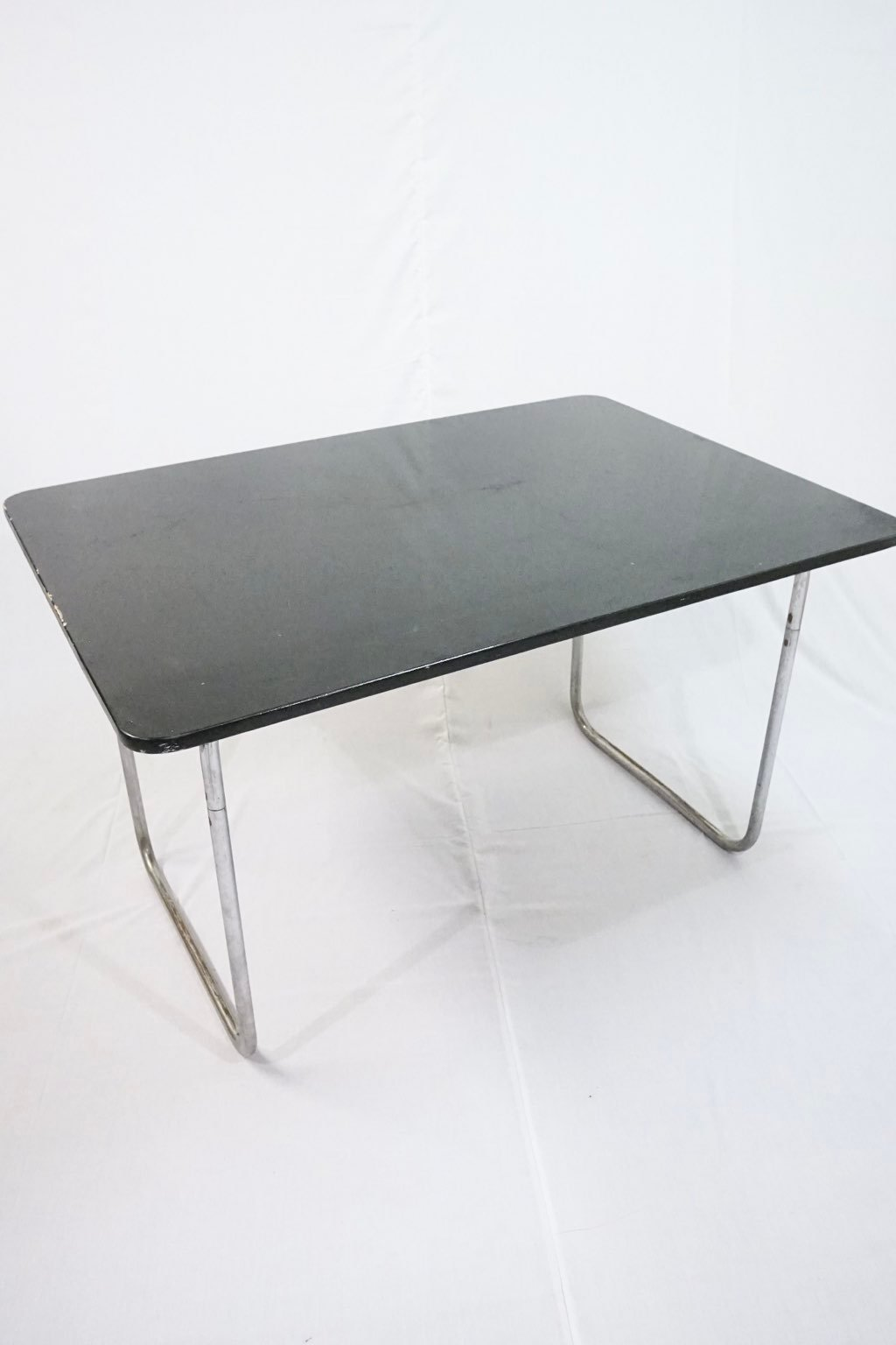 Rare Fritz Hansen steel tube dining table : Price upon request