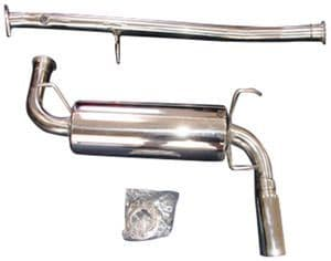 mazda mx5 complete cat back roadstersport 3 polished stainless steel exhaust 1989 1998 na nb