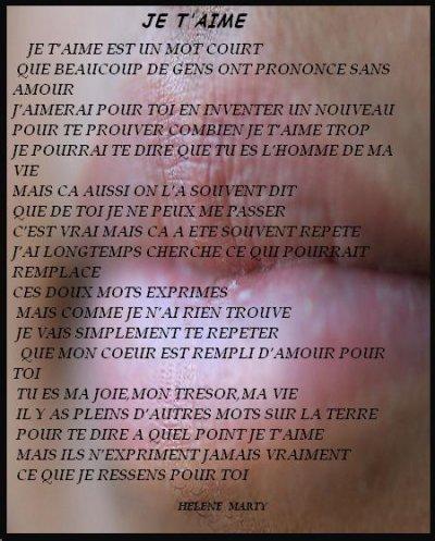 Declaration D'amour A Un Homme : declaration, d'amour, homme, Quotes, Husband:, Poeme, Amour, Homme
