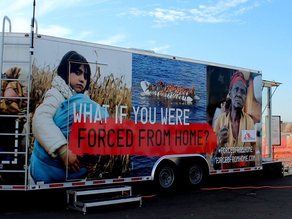 Forced From Home - MNS exhibition