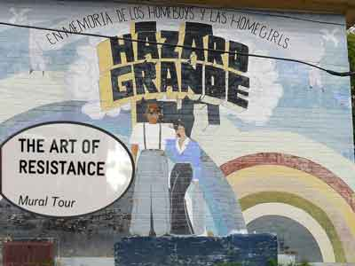 The Art of Resistance Mural Tour