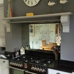 Glass Backsplashes For Kitchens 33x19 Kitchen Sink - Mirrorworks Antique Mirror From ...