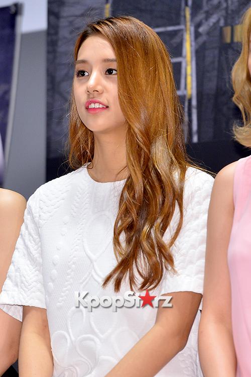 LABOUM'S Solbin at a Press Conference of MBC Every1 'Her Secret Weapon' - June 19. 2015 [PHOTOS] | KpopStarz