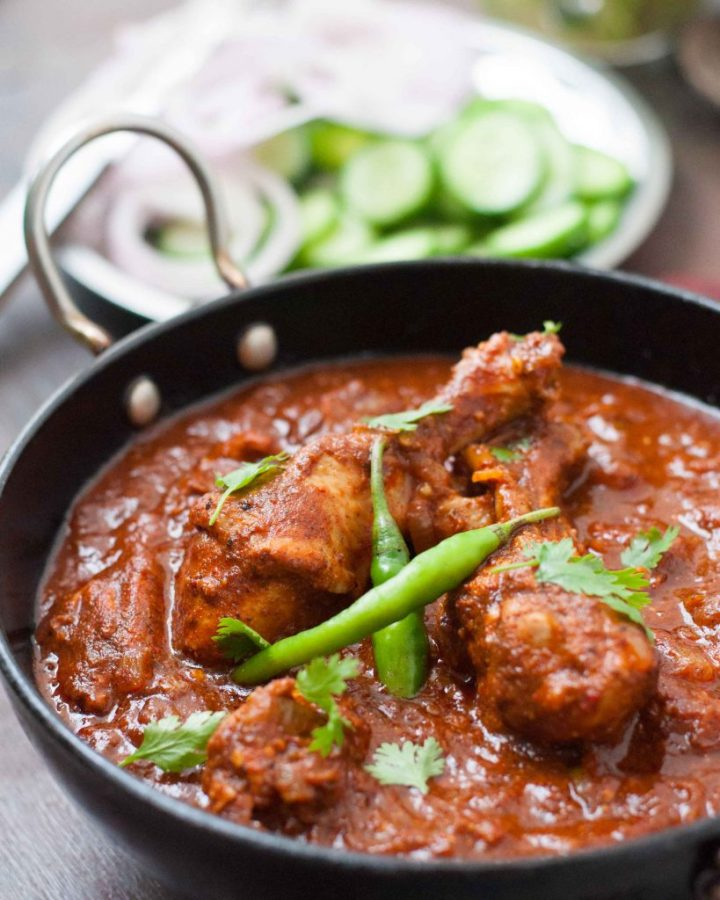 Authentic Goan Chicken Vindaloo