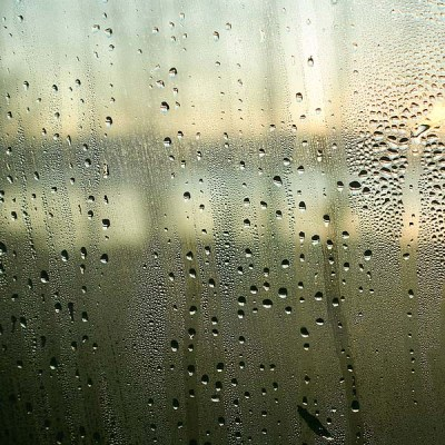 Humidity on Glass Window