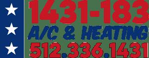 1431-183 A/C & Heating 512-336-1431