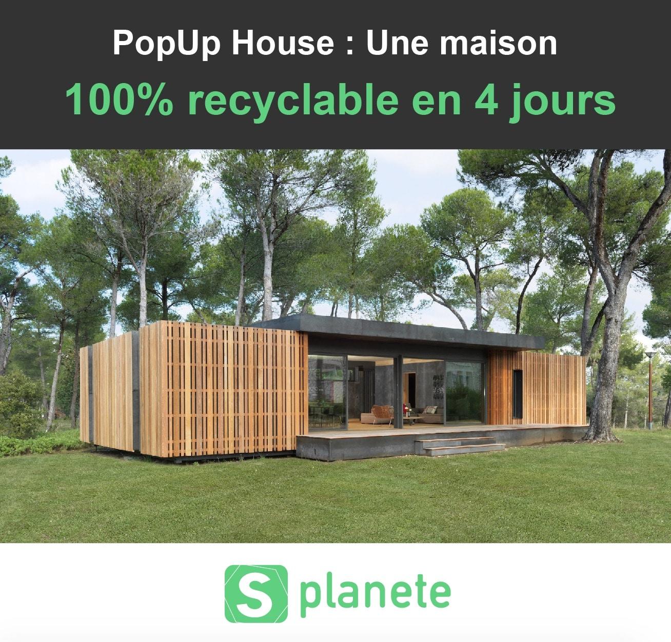 popup house une maison 100