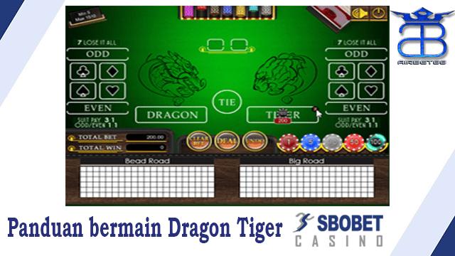 Panduan bermain Dragon Tiger SBOBET Casino