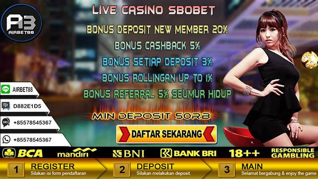 Live Casino Sbobet