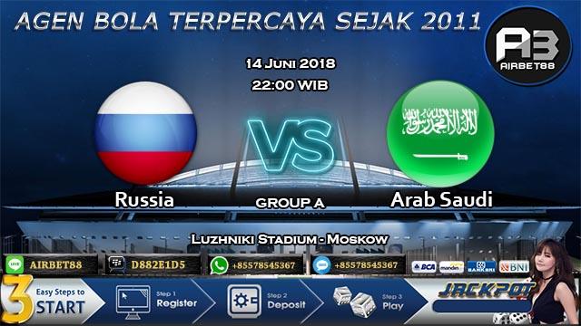 Prediksi Rusia Vs Arab Saudi Piala Dunia 2018