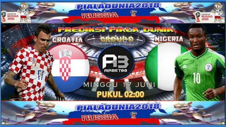 Prediksi Kroasia Vs Nigeria