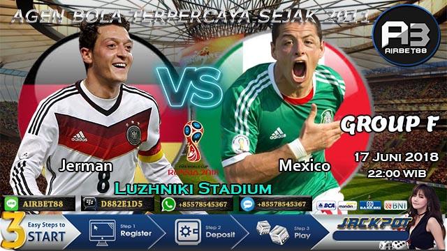 Prediksi Bola Jerman vs Meksiko