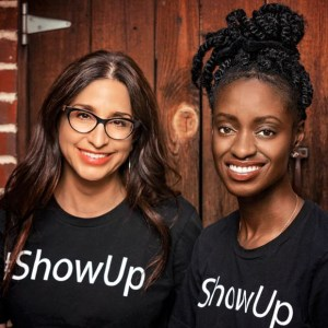 Michelle Saahenefor and Melissa DePino for the Show Up Summit at 1440