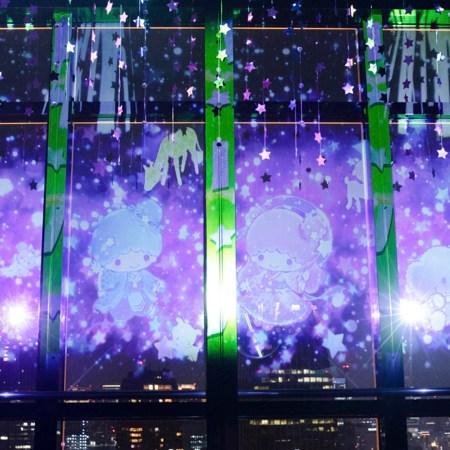 サンリオのキキララと東京タワーの連携