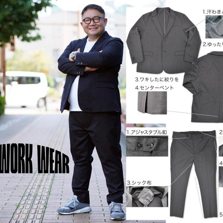 「WIDE WORK WEAR」