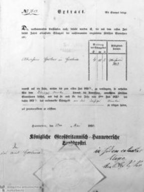 1833_certificate_Schutzgeld_for_a_Schutzjude