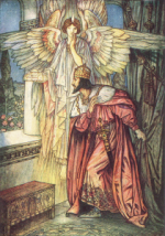 Angel_shows_a_model_of_Hagia_Sofia_to_Justinian_in_a_vision
