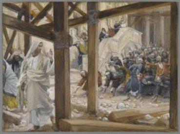 Brooklyn_Museum_-_The_Jews_Took_Up_Rocks_to_Stone_Jesus_(Les_juifs_prirent_des_pierres_pour_lapider_Jésus)_-_James_Tissot