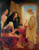Rossetti, Dante Gabriel; Tobias in the House of His Father and Mother; Norfolk Museums Service; http://www.artuk.org/artworks/tobias-in-the-house-of-his-father-and-mother-753