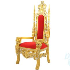 How To Make A Queen Throne Chair Revolving Dealers In Vadodara Gold Rentals King Seat Spch Side