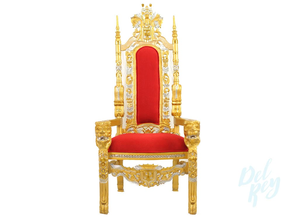 Gold Throne Chair