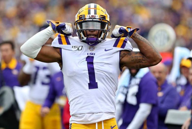 LSU wide receiver Ja'Marr Chase earns November Athlete of the Month honor –  Crescent City Sports