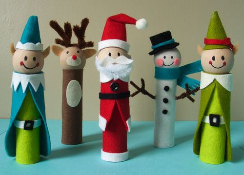 5 Cute Pinterest Christmas Craft Ideas Family Focus Blog