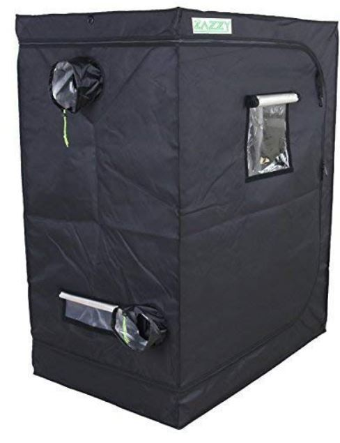 "Zazzy Grow Tent 96""x48""x78 Review"