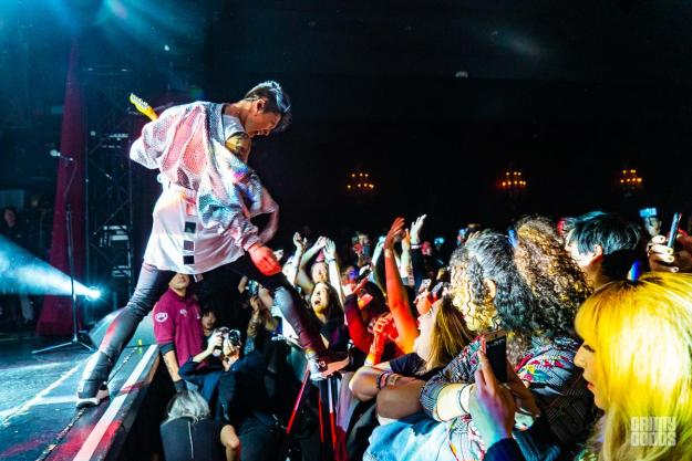 MIYAVI at the El Rey Theatre – Photo by ZB Images