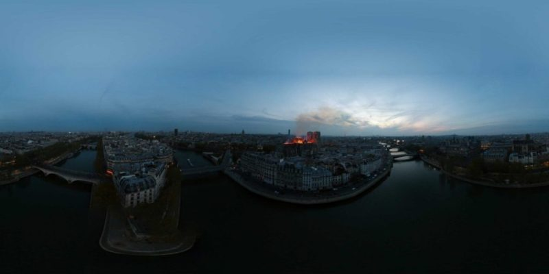 Drone Photography Winner - Boston in 360